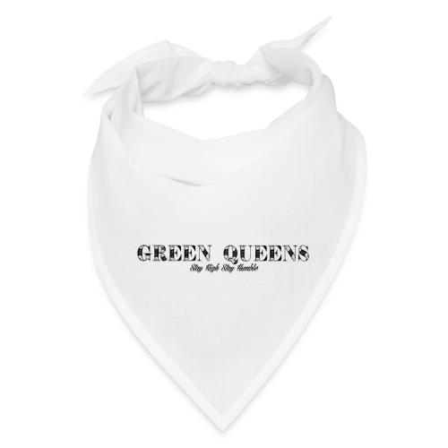 Limited edition - green queens - Bandana