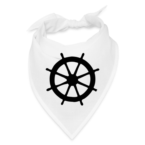 Steering Wheel Sailor Sailing Boating Yachting - Bandana