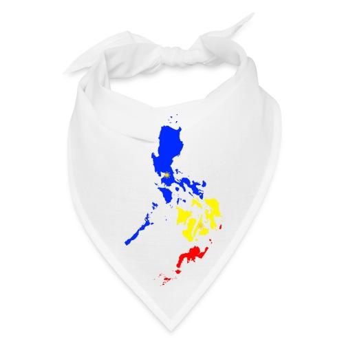 Philippines map art - Bandana