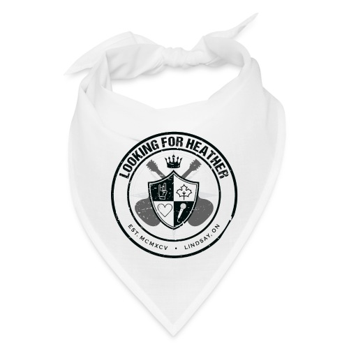 Looking For Heather - Crest Logo - Bandana