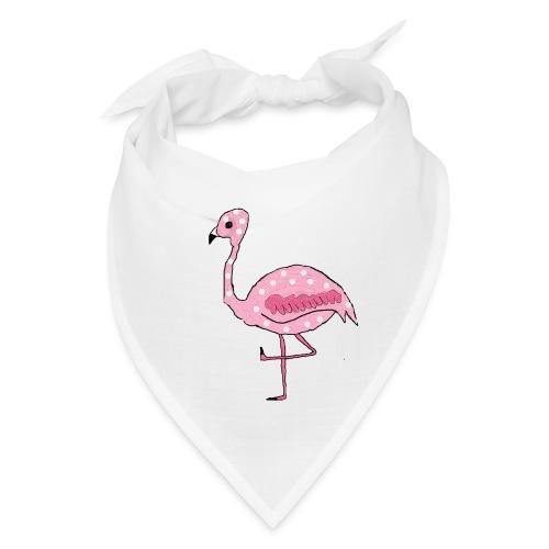 Polka Dotted Flamingo - Bandana