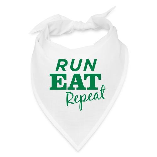 Run Eat Repeat buttons medium - Bandana