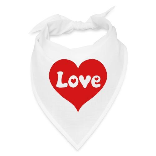 Love Heart - Bandana