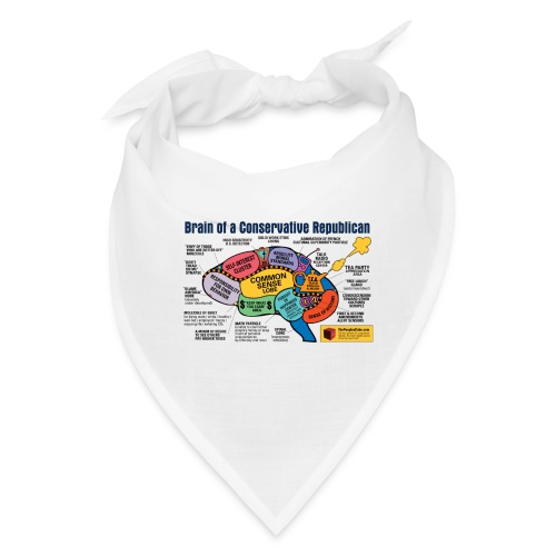 Brain of a Conservative Republican - Bandana