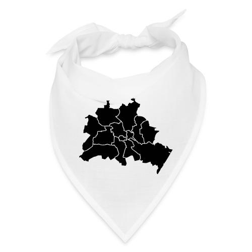 Berlin map, districts - Bandana