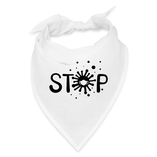 STOP COVID-19 anti virus - Bandana