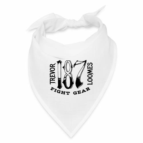Trevor Loomes 187 Fight Gear Street Wear Logo - Bandana