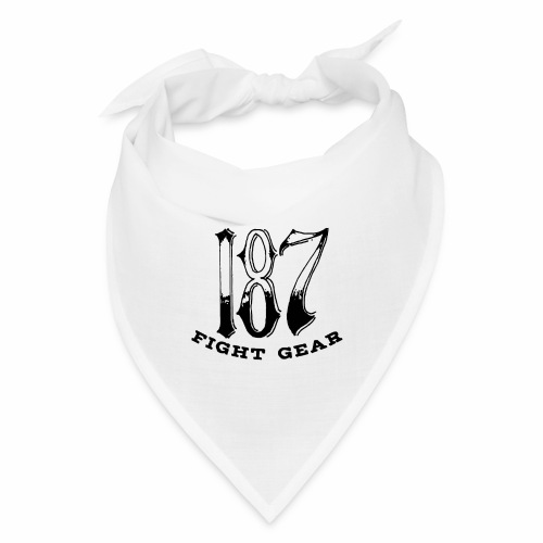 Trevor Loomes 187 Fight Gear Logo Best Sellers - Bandana