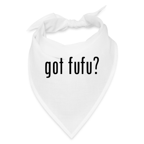 gotfufu-black - Bandana