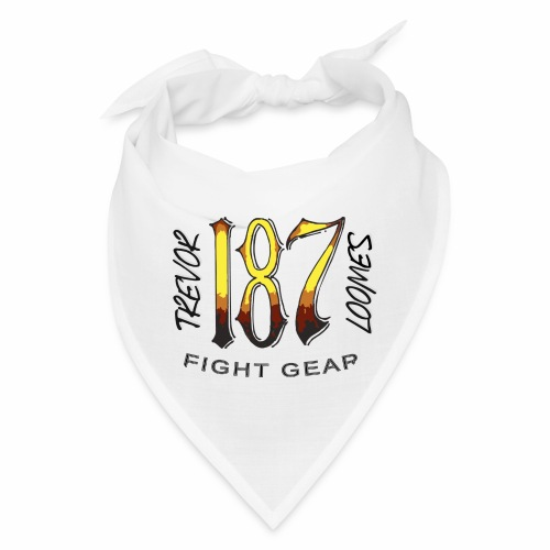 Coloured Trevor Loomes 187 Fight Gear Logo - Bandana