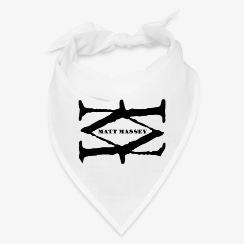 Matt Massey Logo Black - Bandana