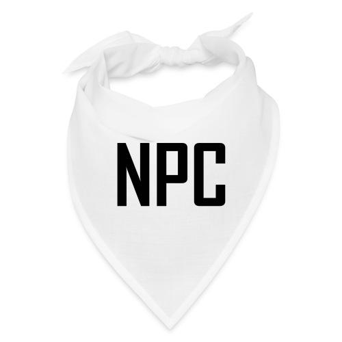 N P C letters logo - Bandana