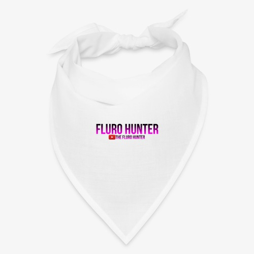 The Fluro Hunter Black And Purple Gradient - Bandana
