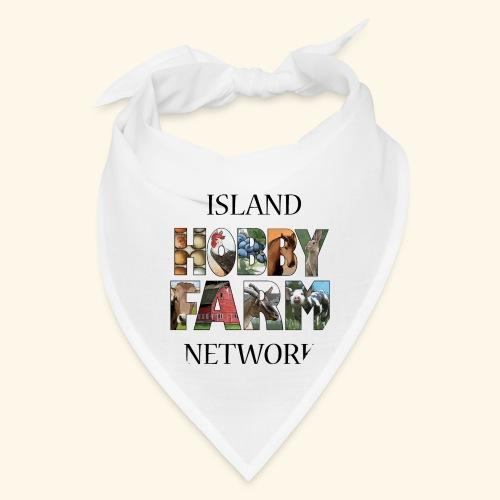 Island Hobby Farm Black Logo - Bandana