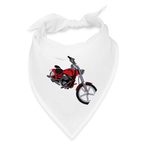 Motorcycle red - Bandana