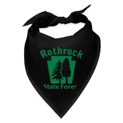 Rothrock State Forest Keystone (w/trees) - Bandana