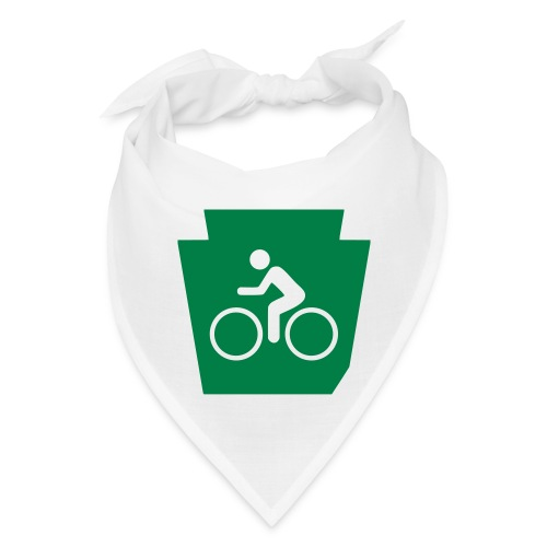 PA Keystone w/Bike (bicycle) - Bandana