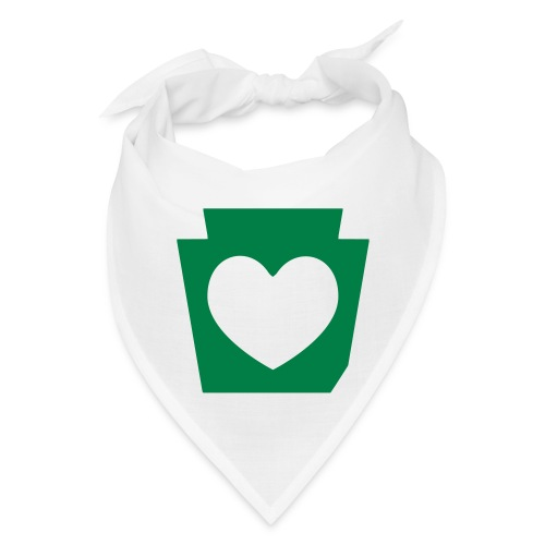 Love/Heart PA Keystone - Bandana