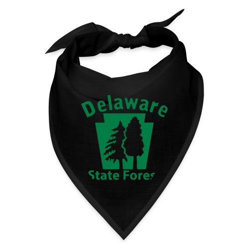 Delaware State Forest Keystone (w/trees) - Bandana