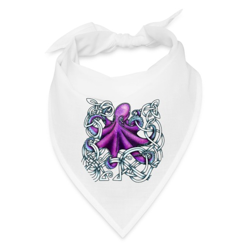 Celtic Octopus - Purple - Bandana