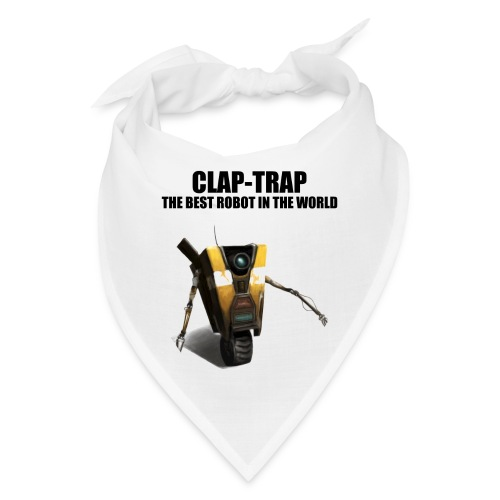 Claptrap The Best Robot In The World - Bandana