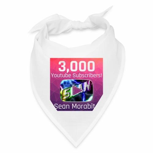 Sean Morabito's 3000 Sub's Logo - Bandana