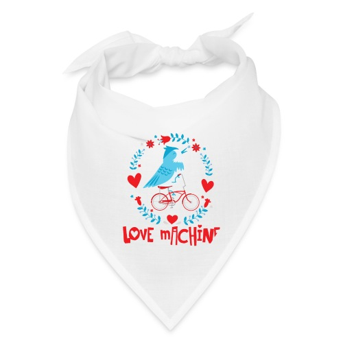 Cute Love Machine Bird - Bandana