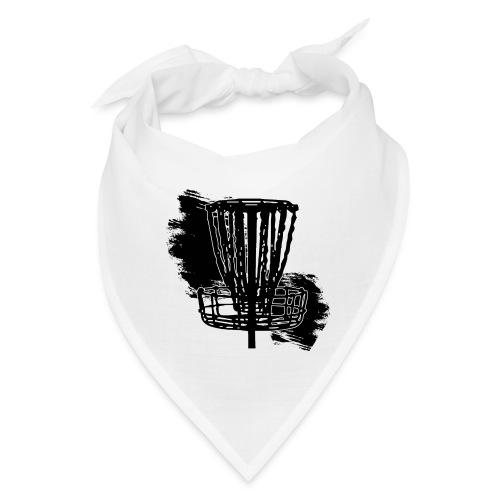 Disc Golf Basket Paint Black Print - Bandana