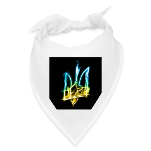Burning Trident for button pins - Bandana