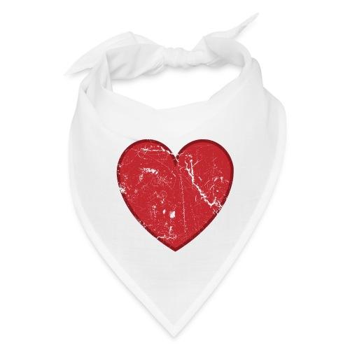 Cool Valentine Vintage Heart - Bandana