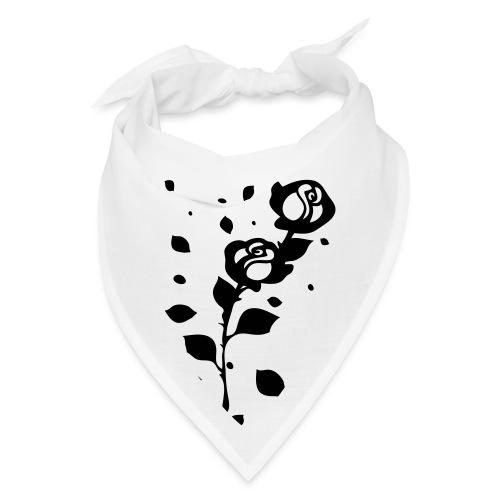 Black roses petal - Bandana