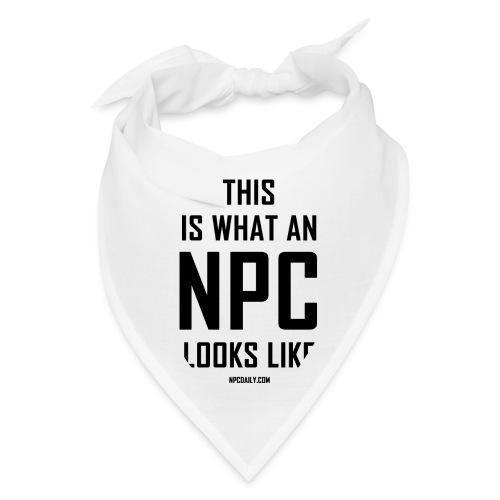 This is what an N P C looks like - Bandana