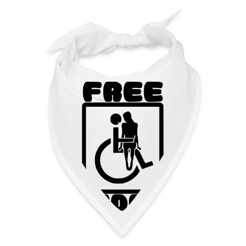 Free rides, wheelchair humor - Bandana