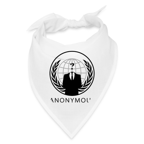 Anonymous 1 - Black - Bandana