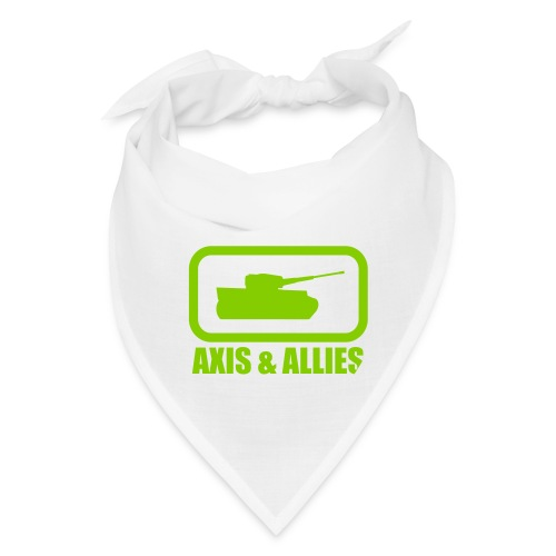 Tank Logo with Axis & Allies text - Multi-color - Bandana