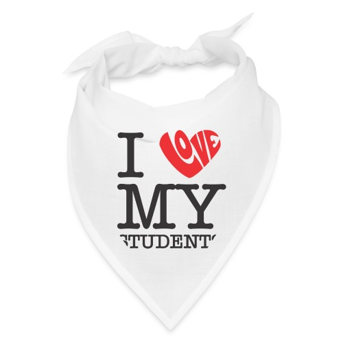 I Love My Students Women's T-Shirts - Bandana