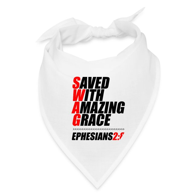 SWAG: Saved With Amazing Grace Christian Shirt