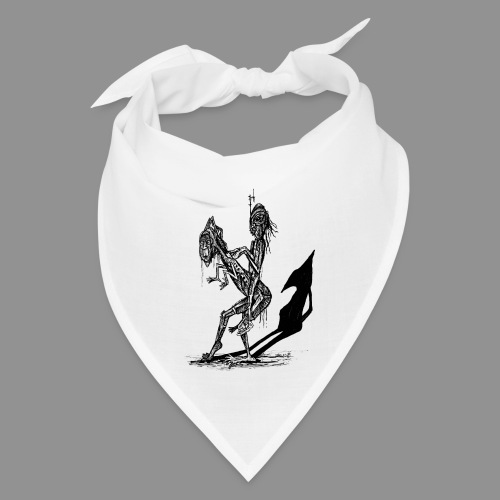 Wolfman Originals Black & White 18 - Bandana