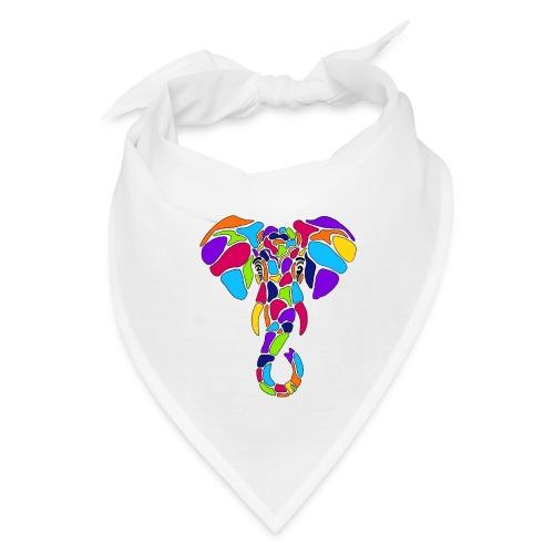 Art Deco elephant - Bandana