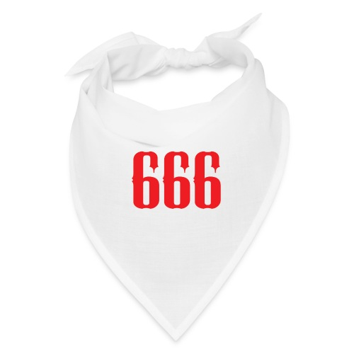 666 - The Number Of The Beast - Bandana