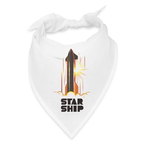 Star Ship Mars - Light - Bandana