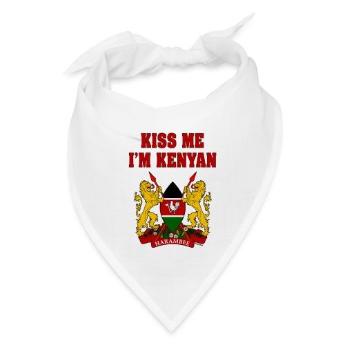 Kiss Me, I'm Kenyan - Bandana