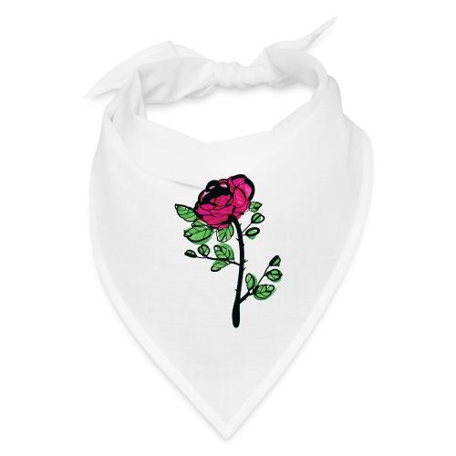 watercolor rose - Bandana