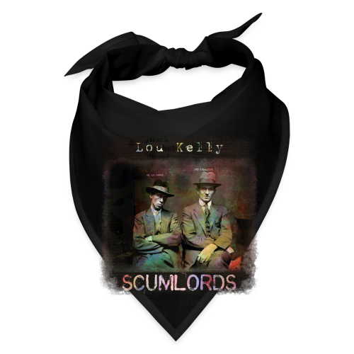 Lou Kelly - Scumlords Album Cover - Bandana