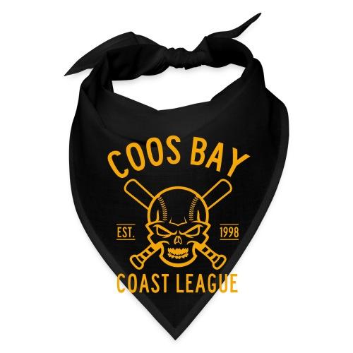 Coos Bay Coast League 1-color Gold - Bandana