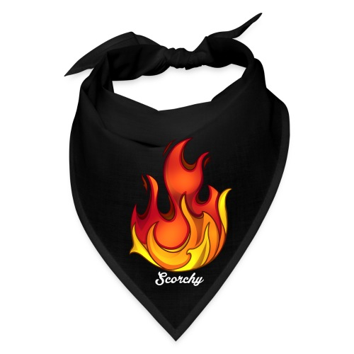 Scorchy White Logo - Bandana