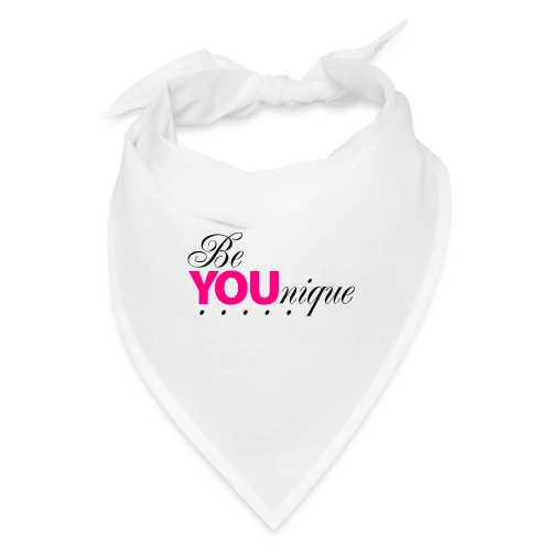 Be Unique Be You Just Be You - Bandana