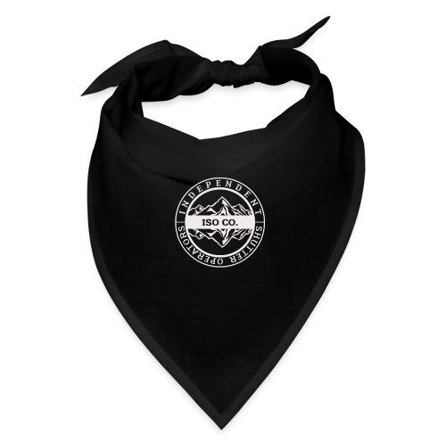 ISO Co. White Classic Emblem - Bandana