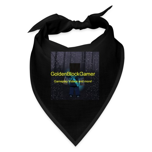 GoldenBlockGamer Tshirt - Bandana
