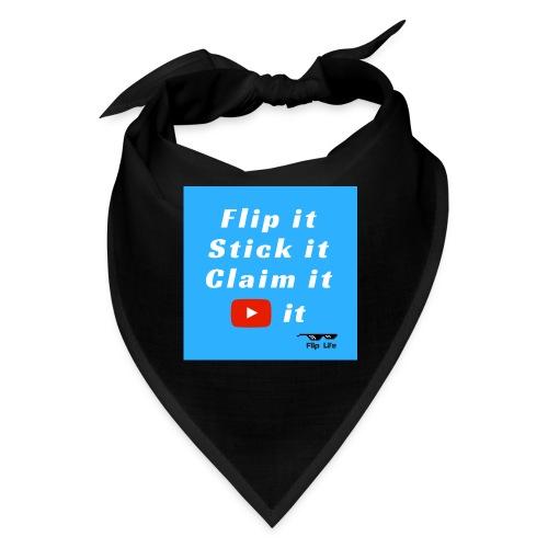 Flip It Blue Back Flip T-shirt - Bandana